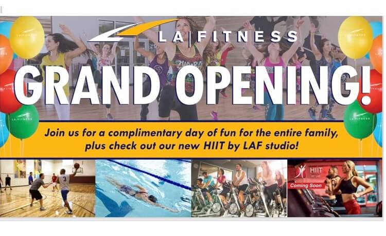 San Tan Valley's LA Fitness Grand Opening Sat Aug. 3 & You're Invited!